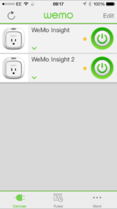 WeMo App
