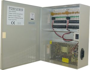 CCTV Power Supply enclosure