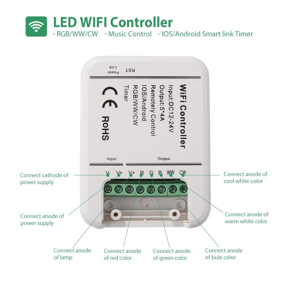 Sunix 5 Channels WiFi LED Controller