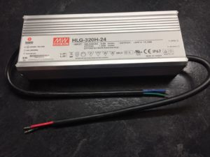 Mean Well HLG-320H-24A LED PSU