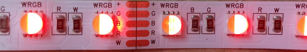 Bare RGBW LED Strip