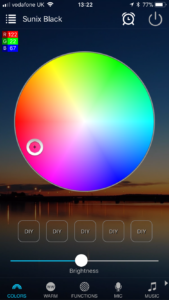 Magic Home RGB picker