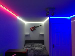 RWB Guitar Bed Area
