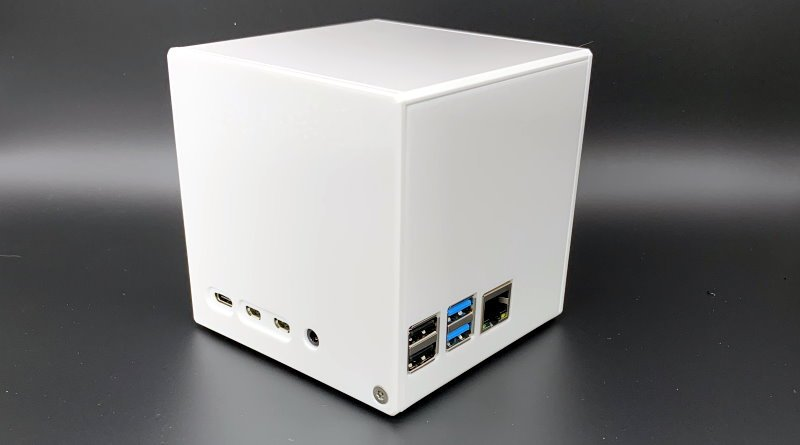 CamdenBoss Cube Raspberry Pi 4 case
