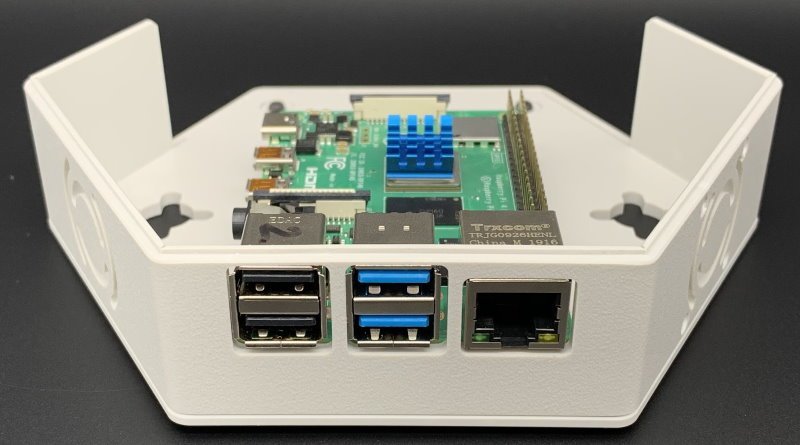 CamdenBoss Hex Raspberry Pi 4 case