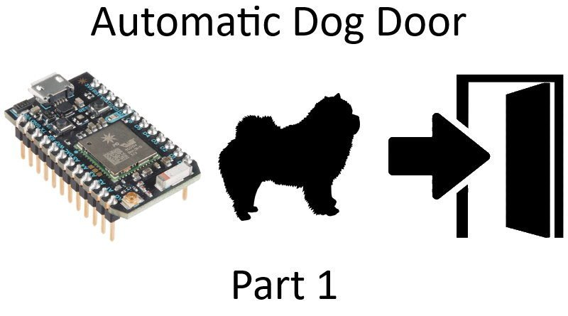 Automatic Dog Door Part 1
