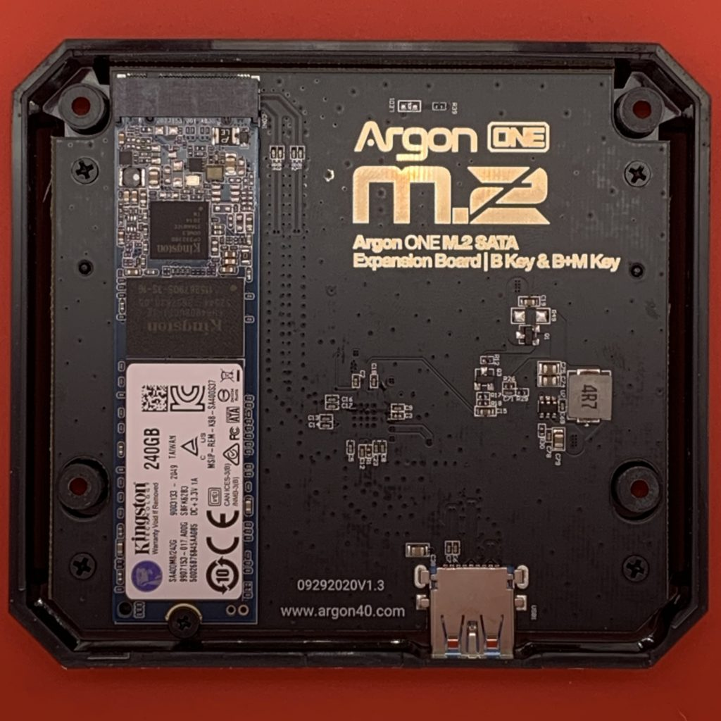 Argon ONE M.2 SSD Controller Board