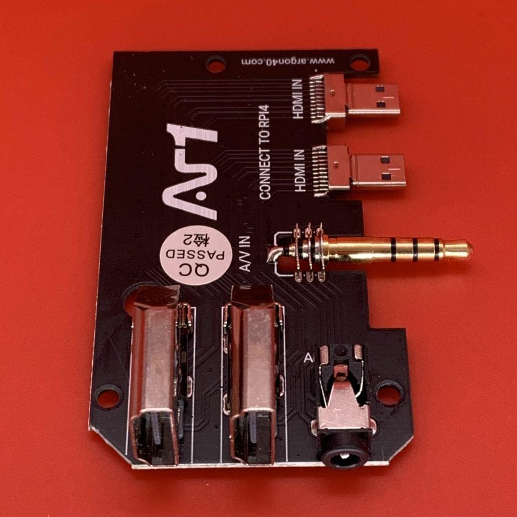 Argon ONE M.2 SSD Case Video Board