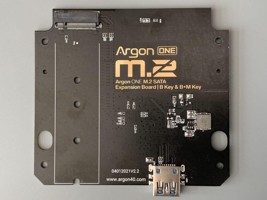 Argon ONE M.2 PCB 04012021V2.2