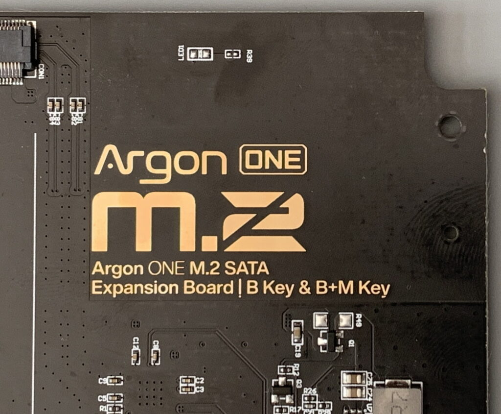 Argon ONE M.2 PCB V2.2 Front Copper Fill